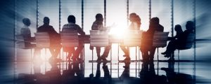 Group of Business People Meeting Back Lit Concept – © Rawpixel.com - Fotolia.com