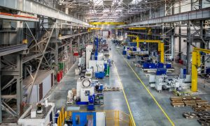 the interior metal manufacturing the view from the top – © Александр Ивасенко - Fotolia.com
